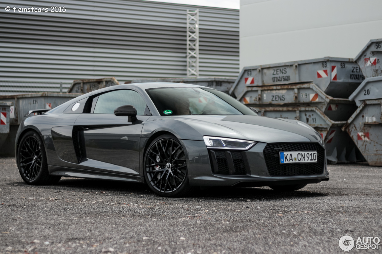 Audi R8 V10 Plus 2015 26 June 2016 Autogespot