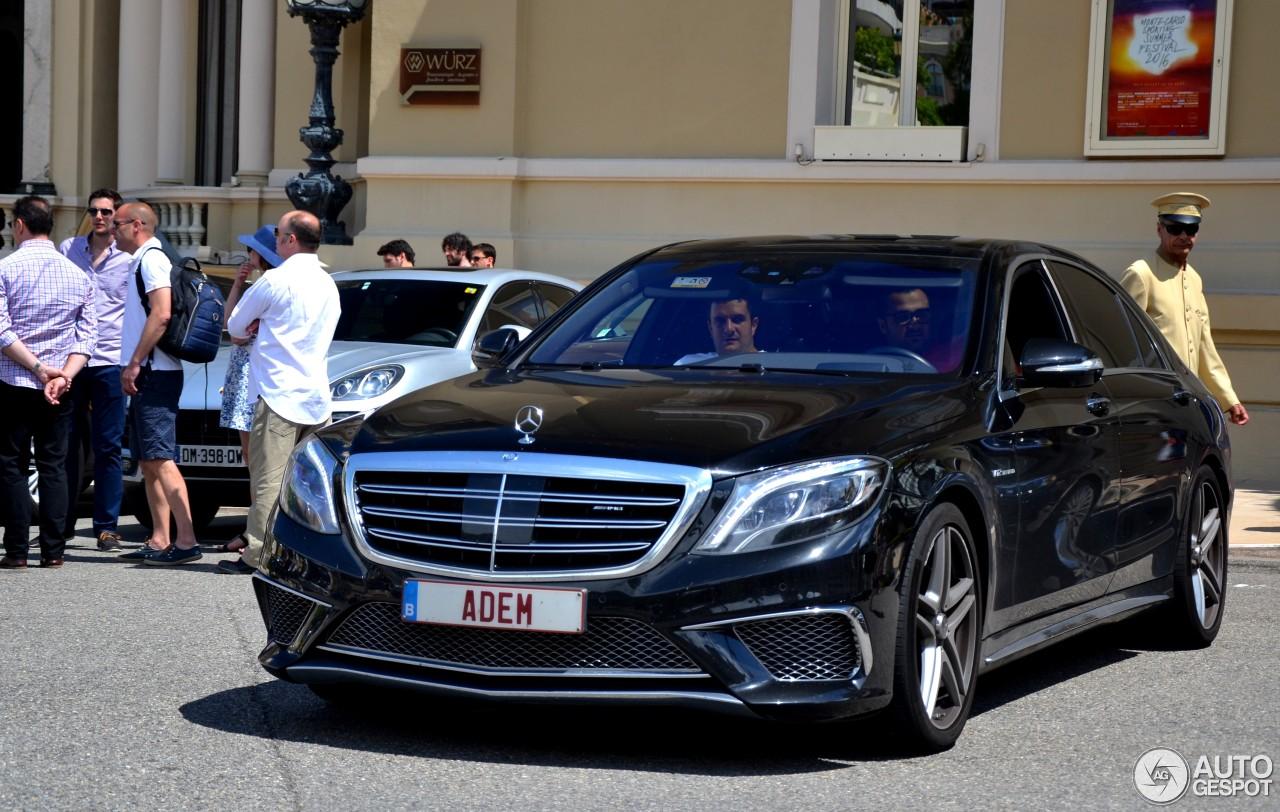 Mercedes benz s 65 amg v222 26 juni 2016 autogespot for Mercedes benz s65 amg 2016