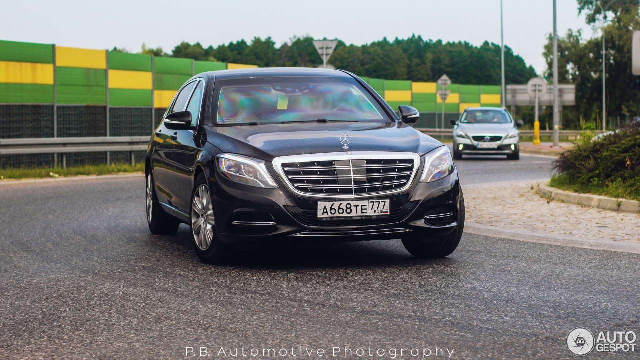 Mercedes Maybach S Guard Price