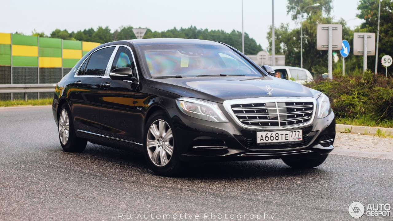 mercedes maybach s600 guard 27 june 2016 autogespot. Black Bedroom Furniture Sets. Home Design Ideas