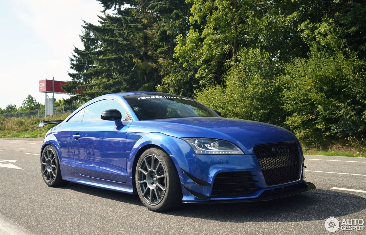 Audi Tt Rs Raeder Motorsport 30 June 2016 Autogespot