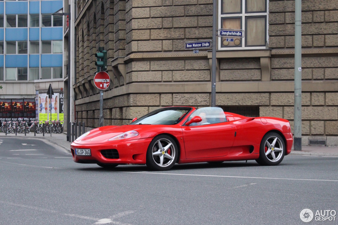 ferrari 360 spider 2 july 2016 autogespot. Black Bedroom Furniture Sets. Home Design Ideas
