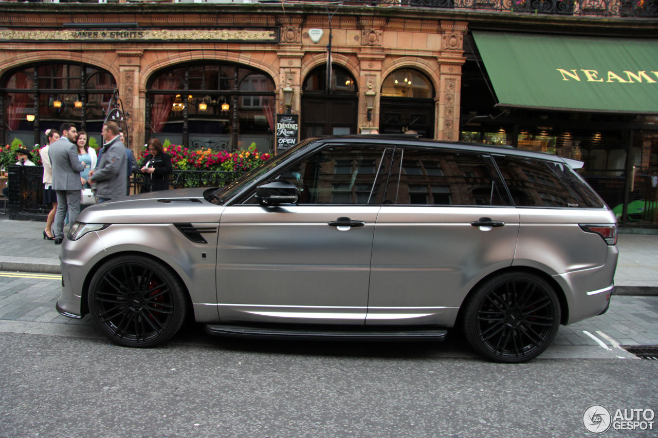 Land Rover Urban Range Rover Sport Rrs 4 July 2016