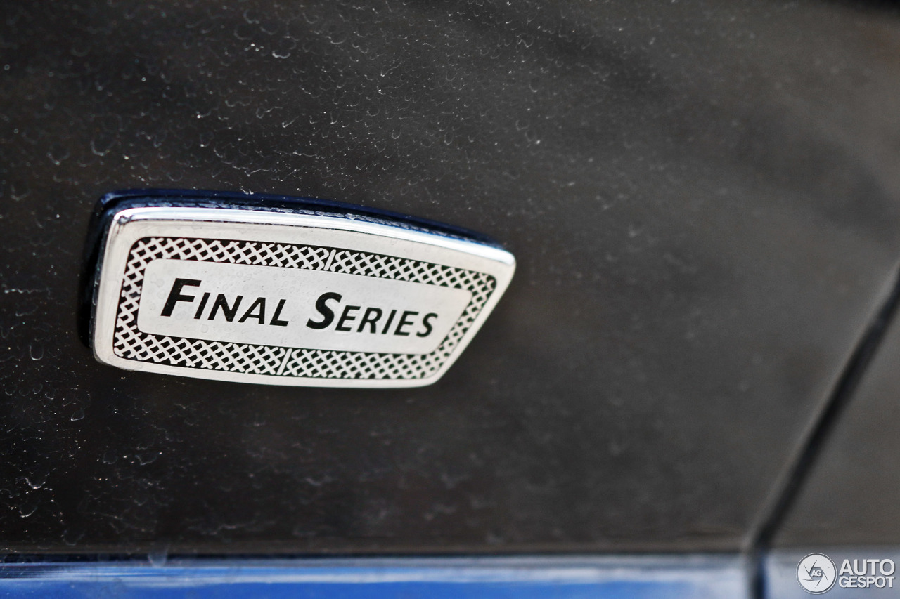 Bentley arnage t final series 5 july 2016 autogespot 9 i bentley arnage t final series 9 vanachro Image collections