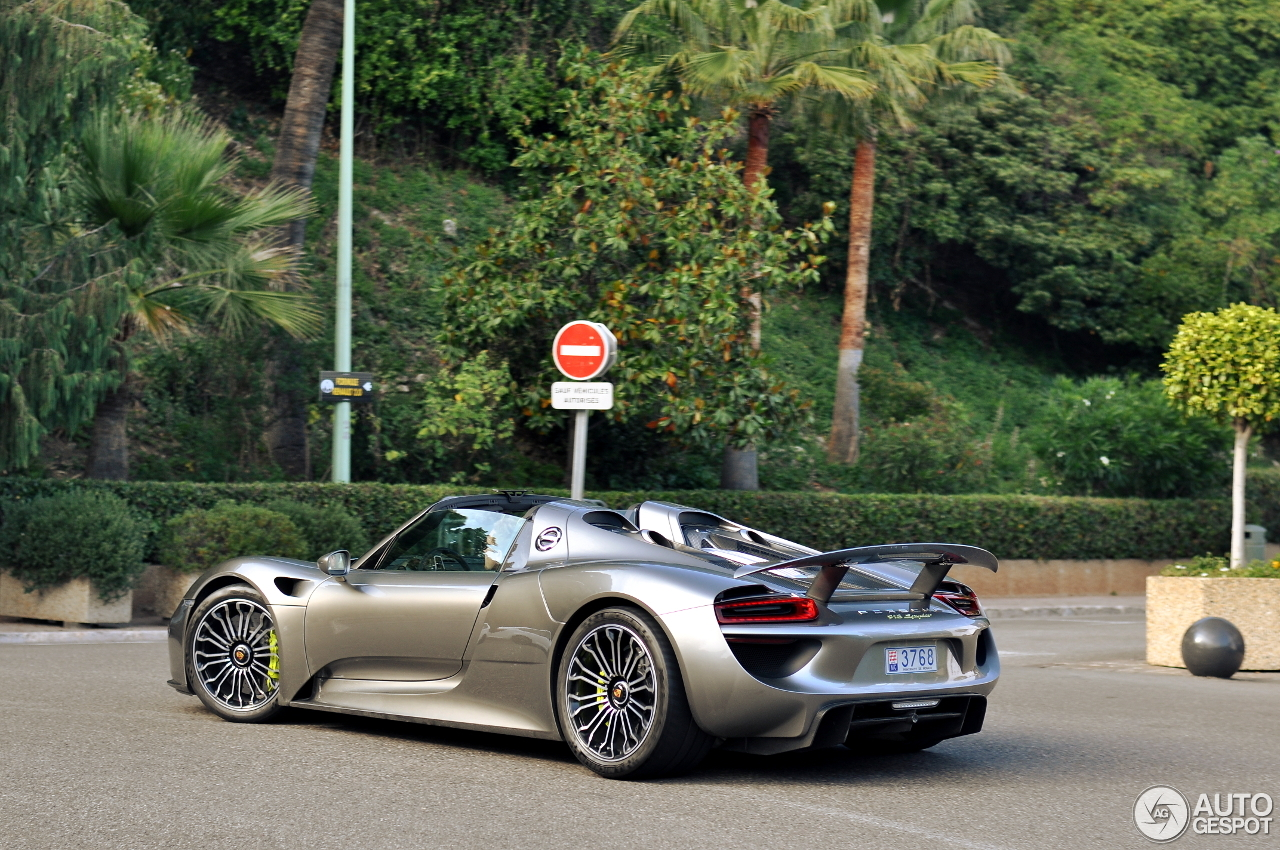 porsche 918 spyder 5 juli 2016 autogespot. Black Bedroom Furniture Sets. Home Design Ideas