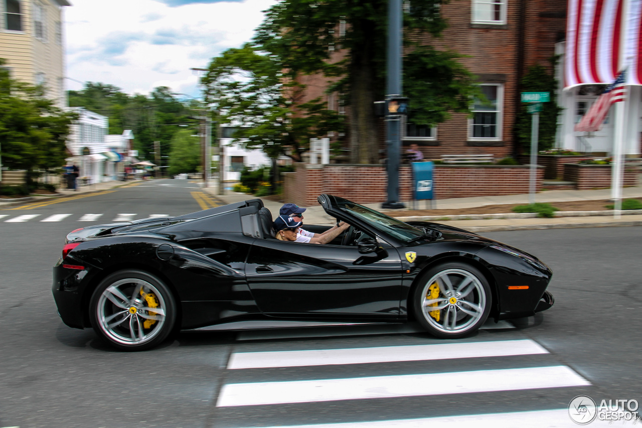 Ferrari 488 Spider 6 July 2016 Autogespot
