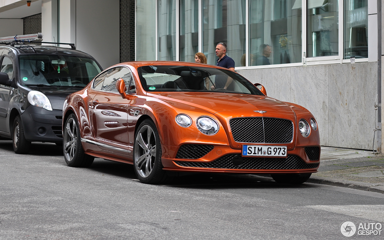 bentley continental gt speed 2016 7 july 2016 autogespot. Black Bedroom Furniture Sets. Home Design Ideas