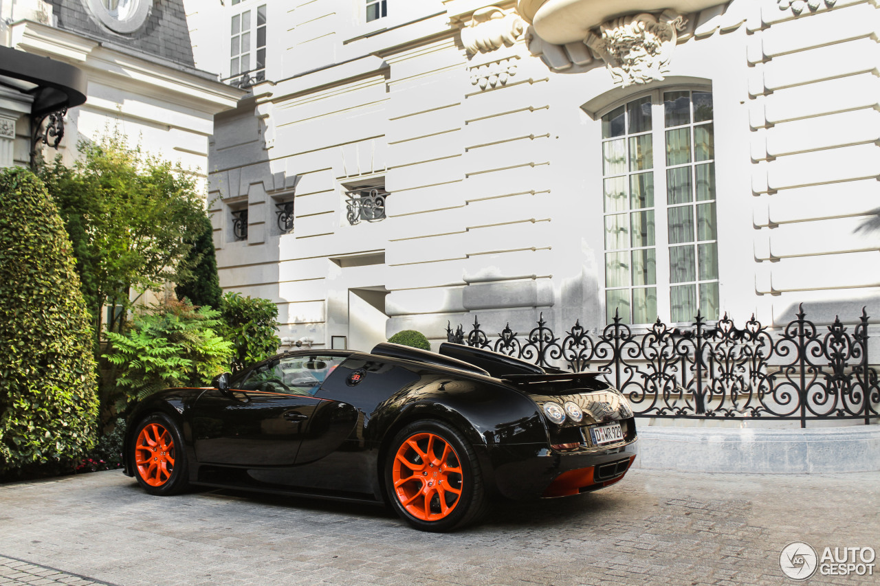 bugatti veyron 16 4 grand sport vitesse world record car edition 7 july 201. Black Bedroom Furniture Sets. Home Design Ideas