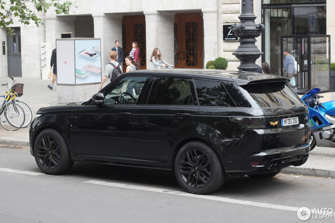 Land Rover Range Rover Sport Svr 8 July 2016 Autogespot