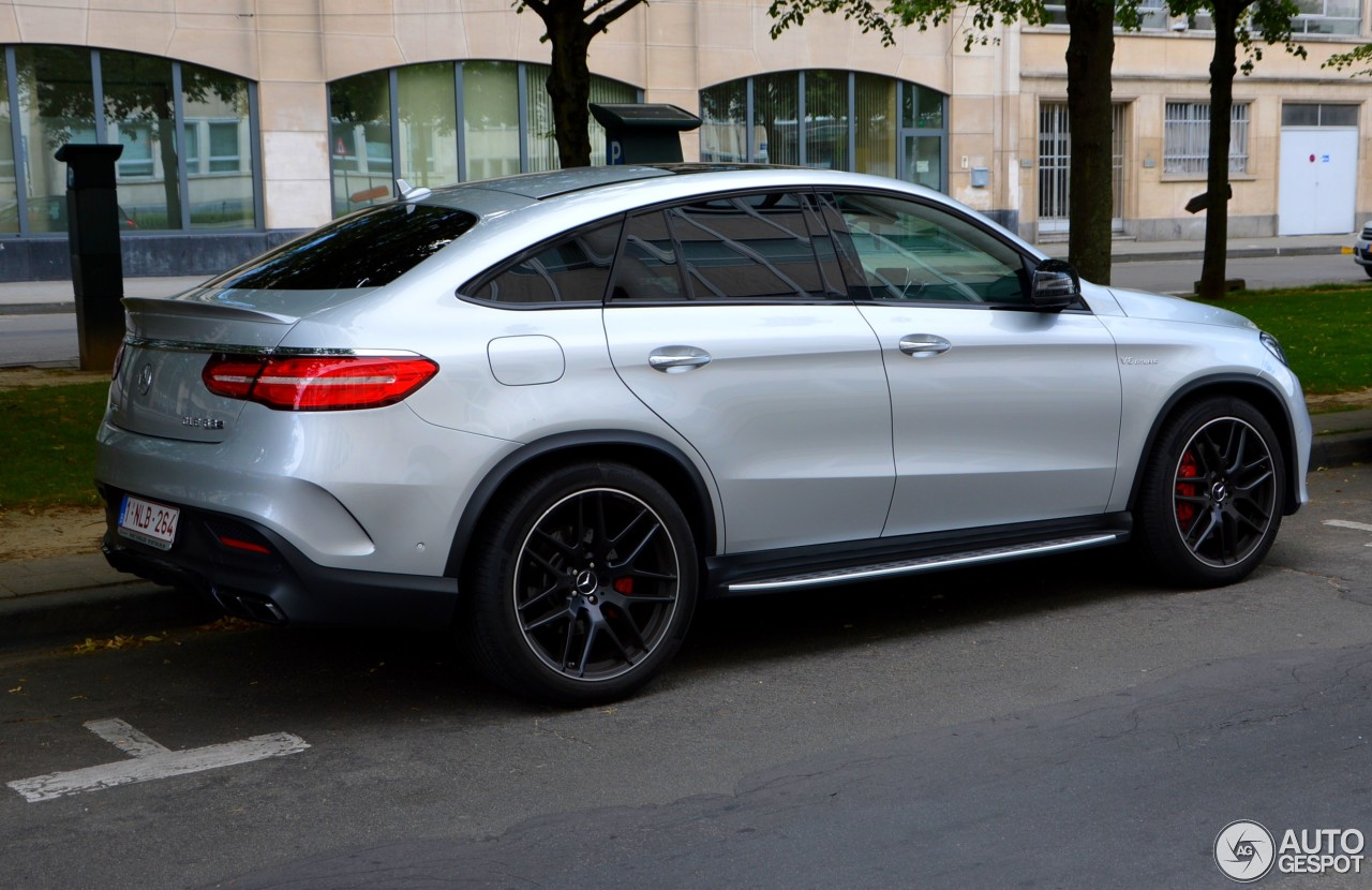 mercedes amg gle 63 s coup 9 juillet 2016 autogespot. Black Bedroom Furniture Sets. Home Design Ideas