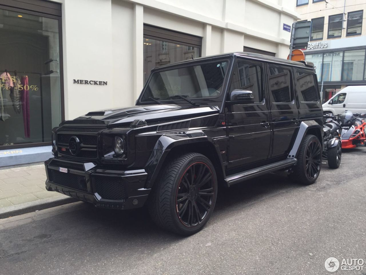 Mercedes benz brabus g 800 9 july 2016 autogespot for Mercedes benz g class brabus