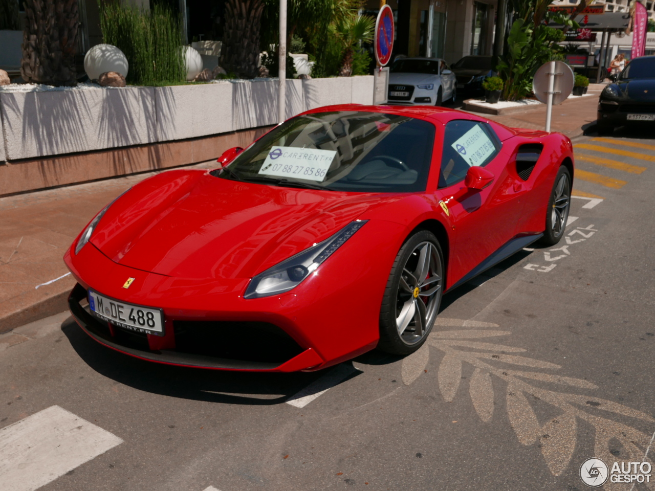 ferrari 488 spider 10 juillet 2016 autogespot. Black Bedroom Furniture Sets. Home Design Ideas