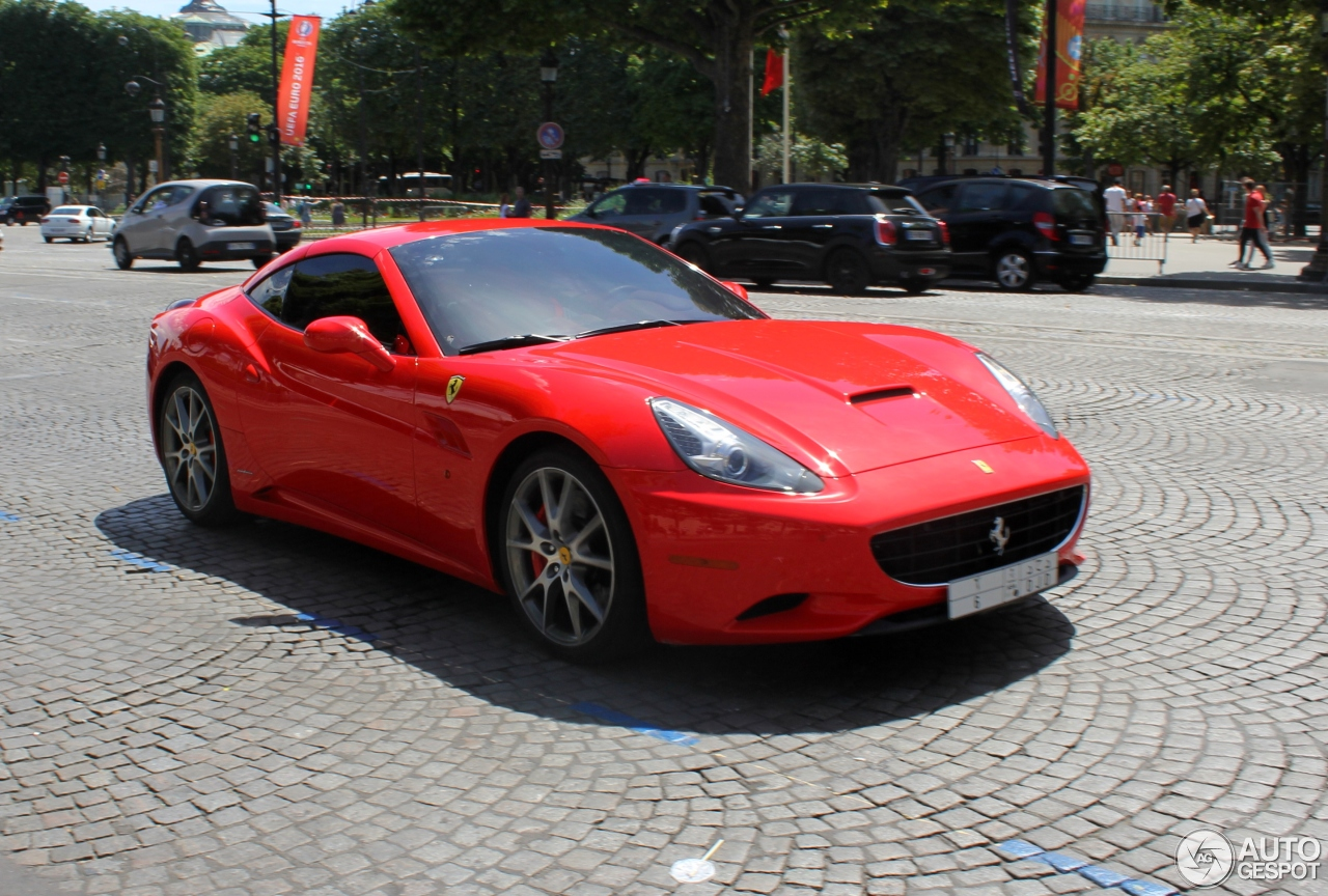 Ferrari California 10 July 2016 Autogespot