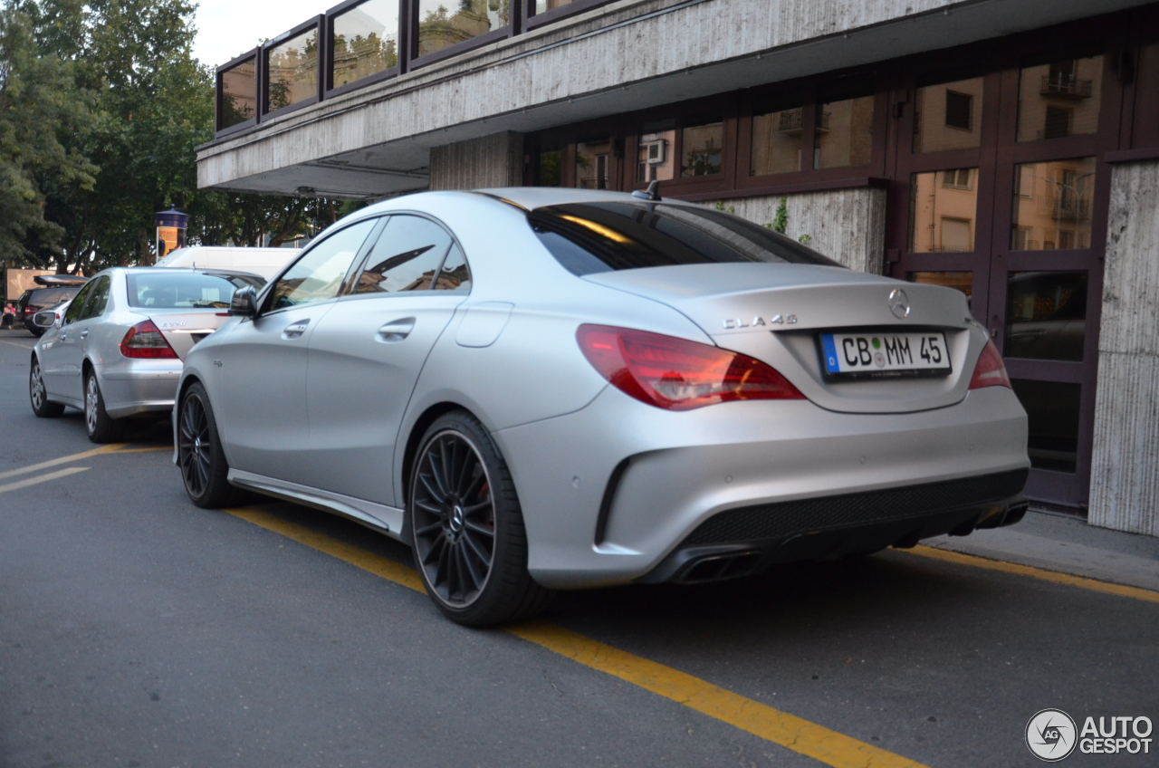 Mercedes benz cla 45 amg c117 10 july 2016 autogespot for 2016 mercedes benz cla