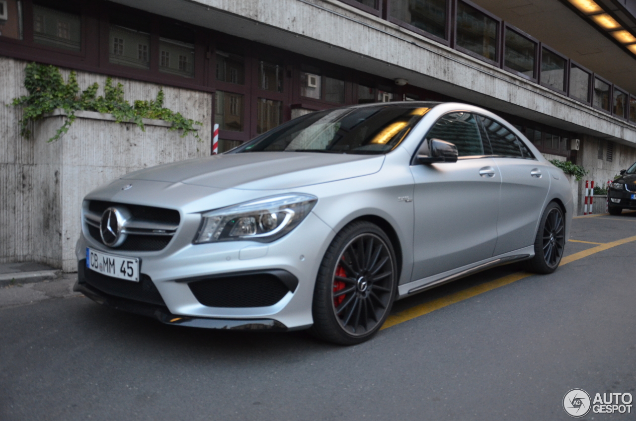 mercedes benz cla 45 amg c117 10 july 2016 autogespot. Black Bedroom Furniture Sets. Home Design Ideas