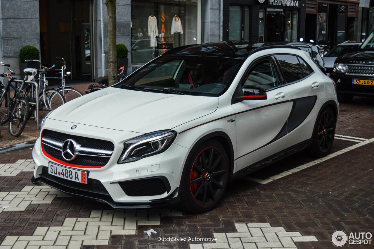 Mercedes benz gla 45 amg edition 1 10 july 2016 autogespot for Mercedes benz gla 45 amg price