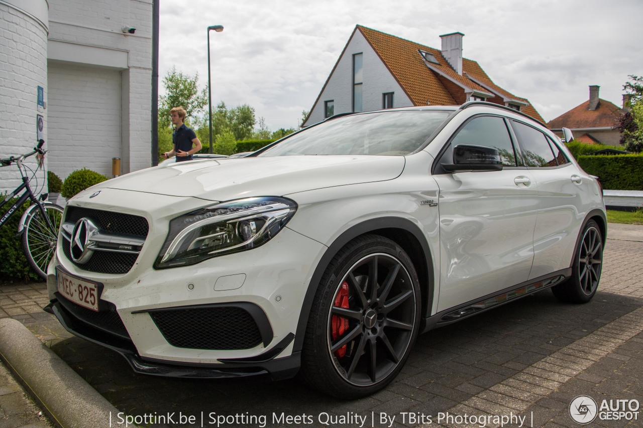 Mercedes benz gla 45 amg x156 10 july 2016 autogespot for Mercedes benz gla 45 amg for sale