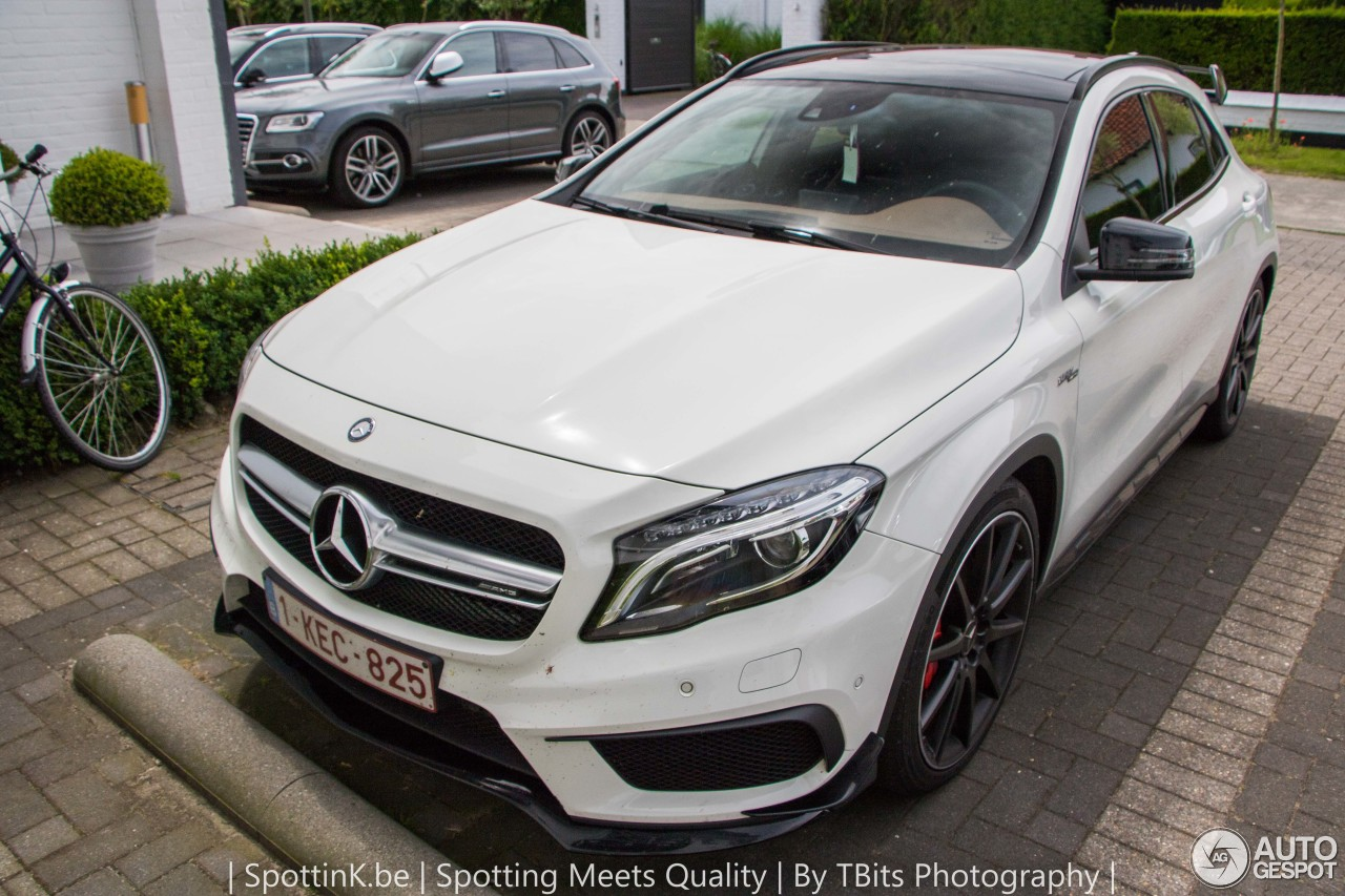mercedes benz gla 45 amg x156 10 july 2016 autogespot. Black Bedroom Furniture Sets. Home Design Ideas