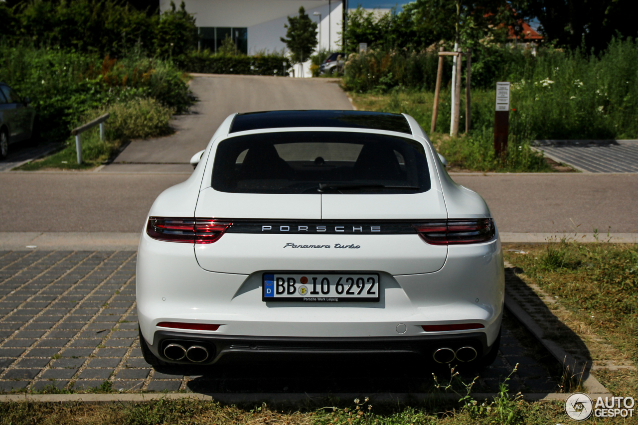 Porsche 971 Panamera Turbo  10 July 2016  Autogespot