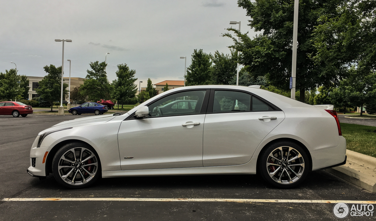 cadillac ats v 11 july 2016 autogespot. Cars Review. Best American Auto & Cars Review
