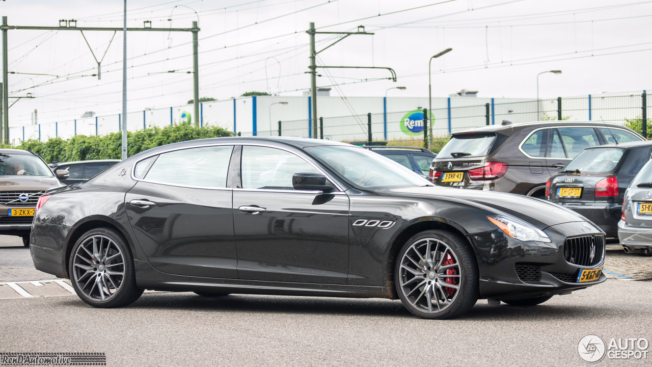 maserati quattroporte gts 2013 11 july 2016 autogespot. Black Bedroom Furniture Sets. Home Design Ideas