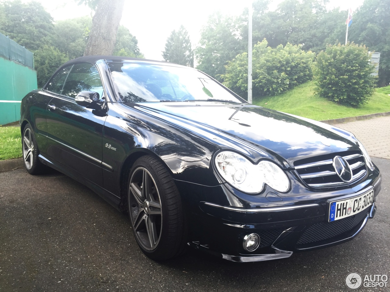 Mercedes benz clk 63 amg cabriolet 13 juli 2016 autogespot for Mercedes benz 07