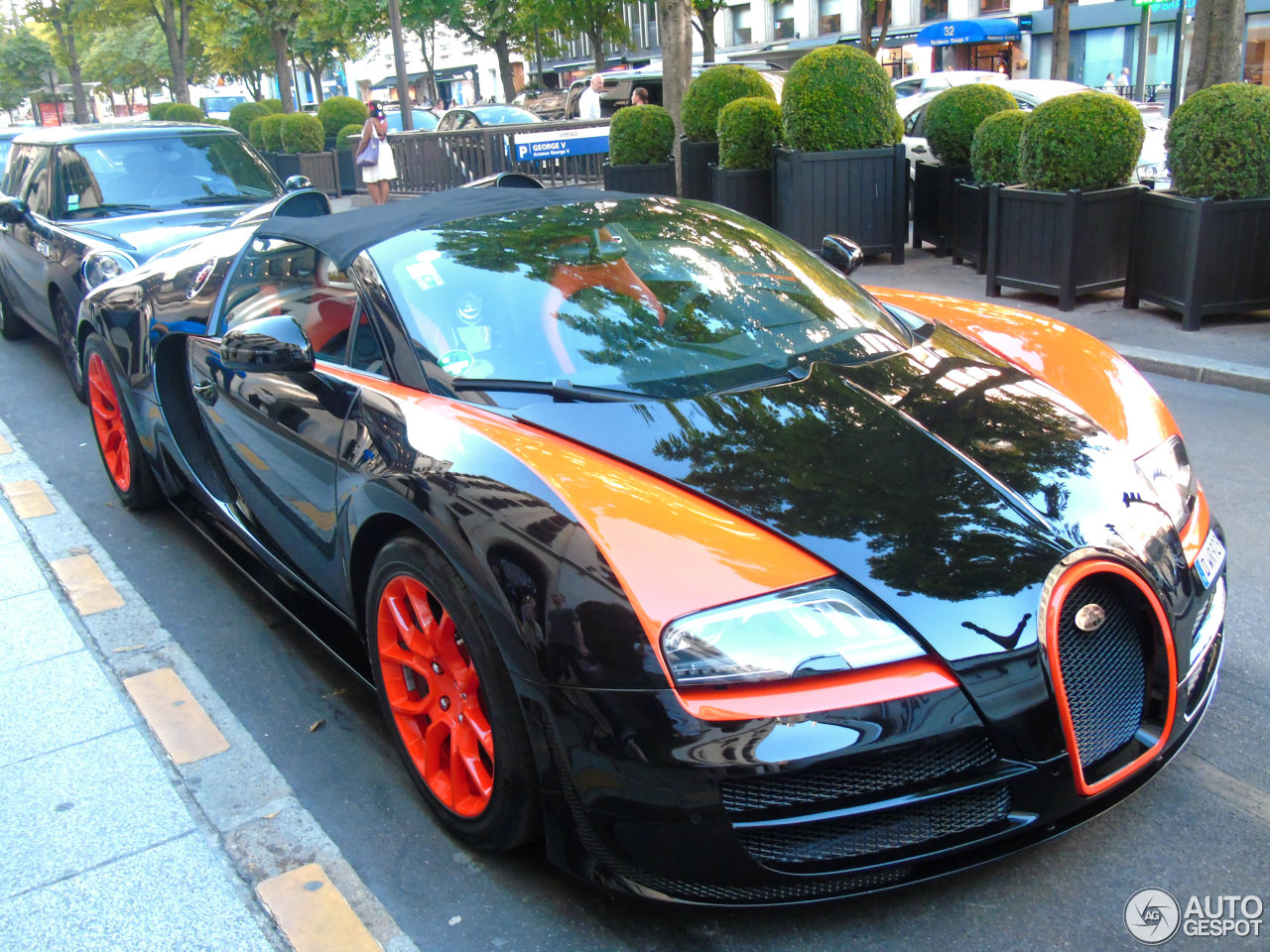 bugatti veyron 16 4 grand sport vitesse world record car edition 14 july 20. Black Bedroom Furniture Sets. Home Design Ideas