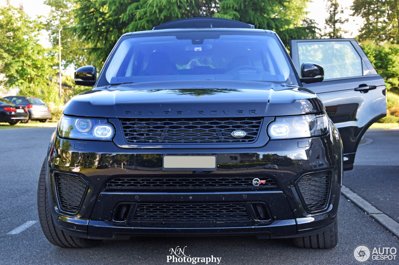 land rover range rover sport svr 14 juillet 2016. Black Bedroom Furniture Sets. Home Design Ideas