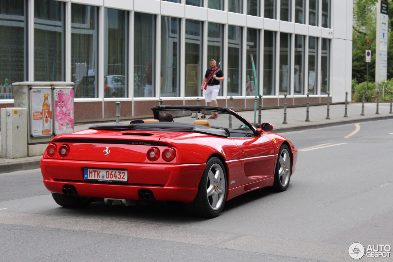 ferrari f355 spider 15 july 2016 autogespot. Black Bedroom Furniture Sets. Home Design Ideas