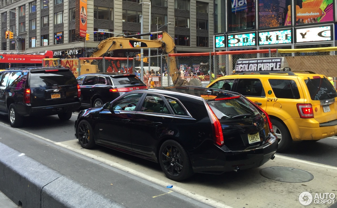 cadillac cts v sport wagon 16 july 2016 autogespot. Black Bedroom Furniture Sets. Home Design Ideas