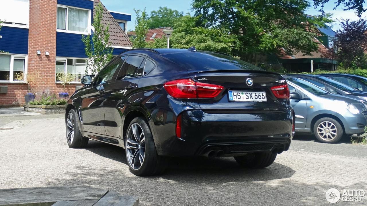 Bmw X6 M F86 17 Juli 2016 Autogespot