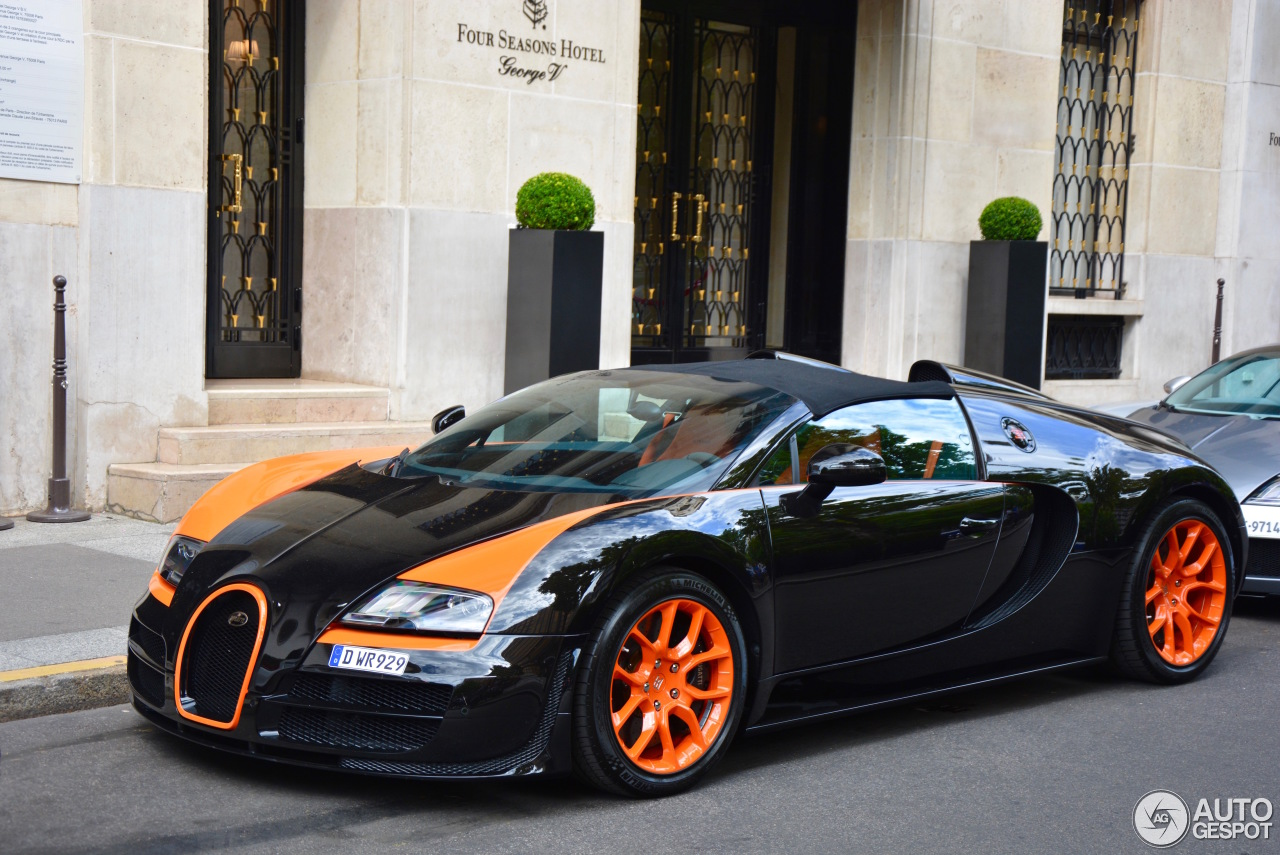 bugatti veyron 16 4 grand sport vitesse world record car edition 17 july 20. Black Bedroom Furniture Sets. Home Design Ideas
