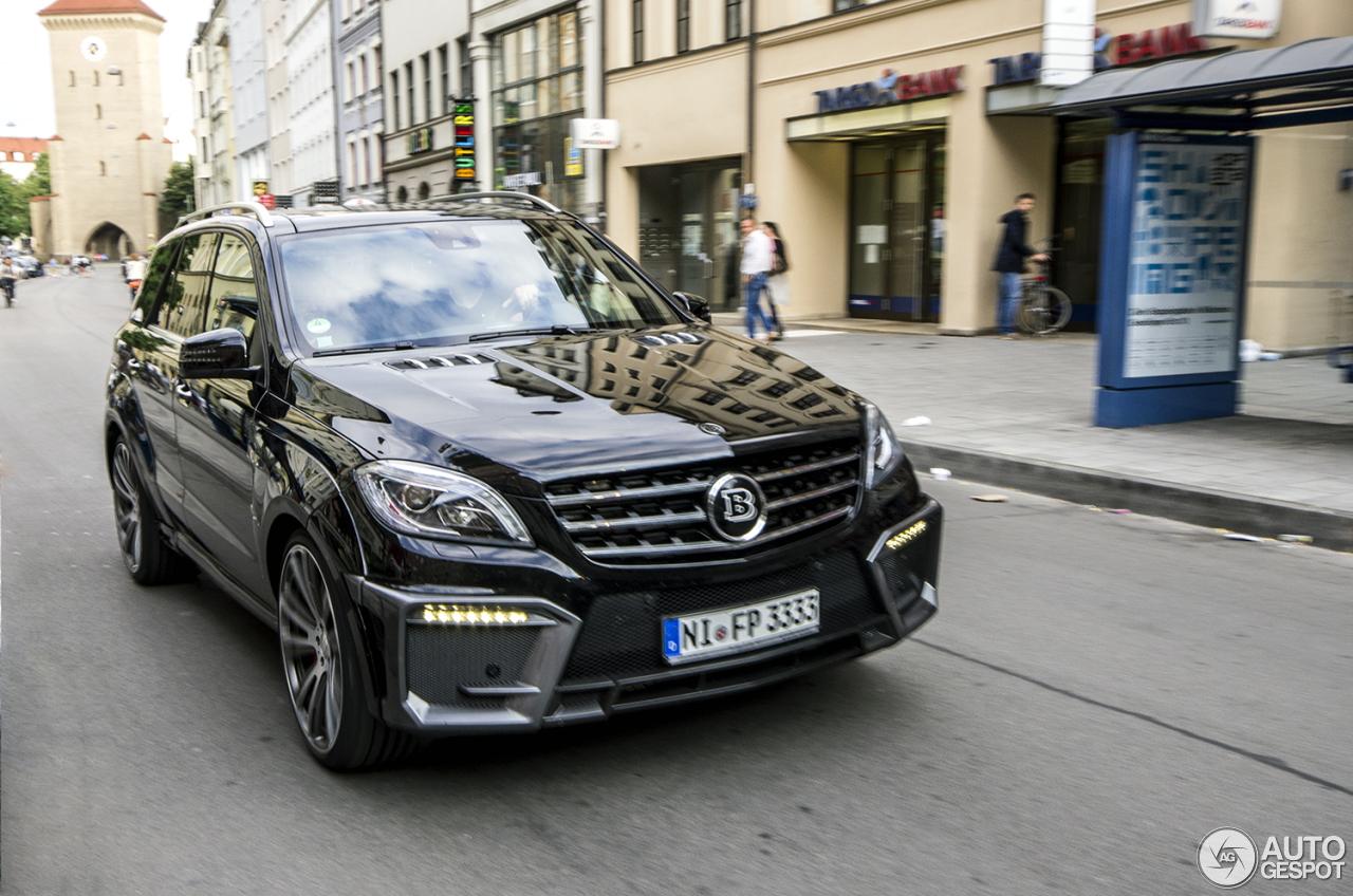 All Types mercedes ml 2016 : Mercedes-Benz Brabus ML B63-700 Widestar - 17 July 2016 - Autogespot