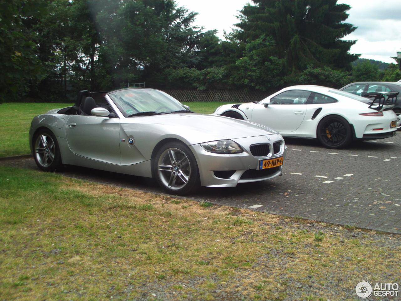 Bmw Z4 M Roadster 18 Juli 2016 Autogespot