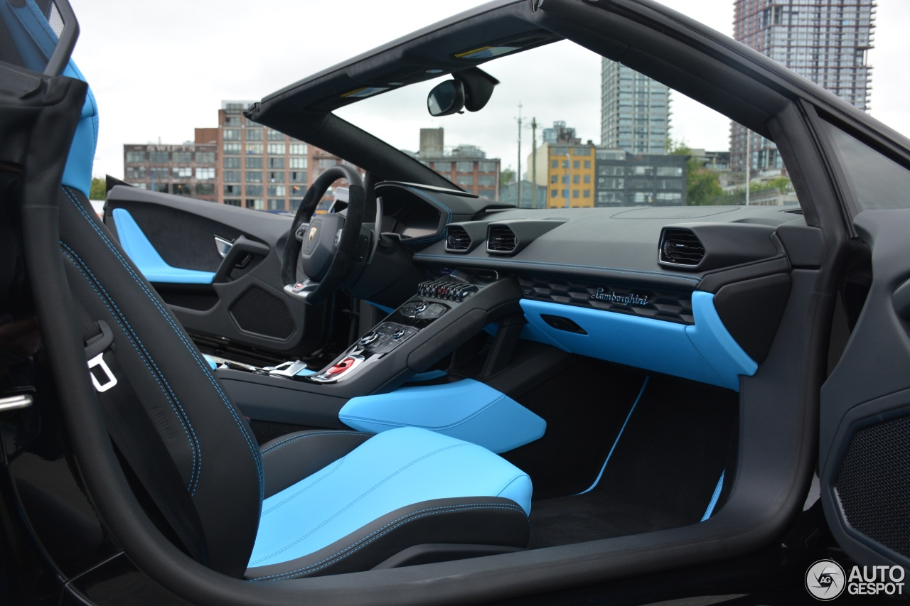 lamborghini hurac n lp610 4 spyder 18 july 2016 autogespot. Black Bedroom Furniture Sets. Home Design Ideas