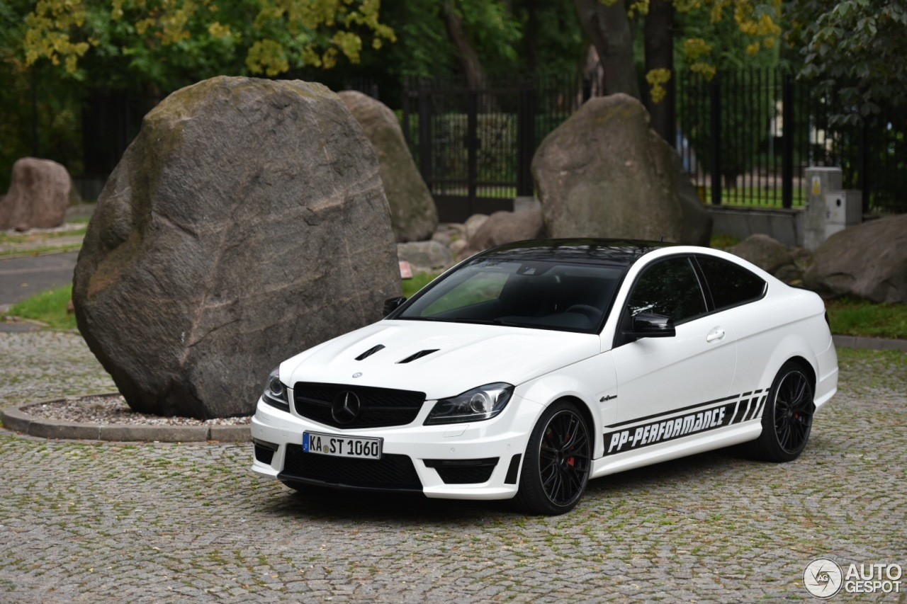 mercedes benz pp performance c 63 amg coup edition 507 18 juli 2016 autogespot. Black Bedroom Furniture Sets. Home Design Ideas