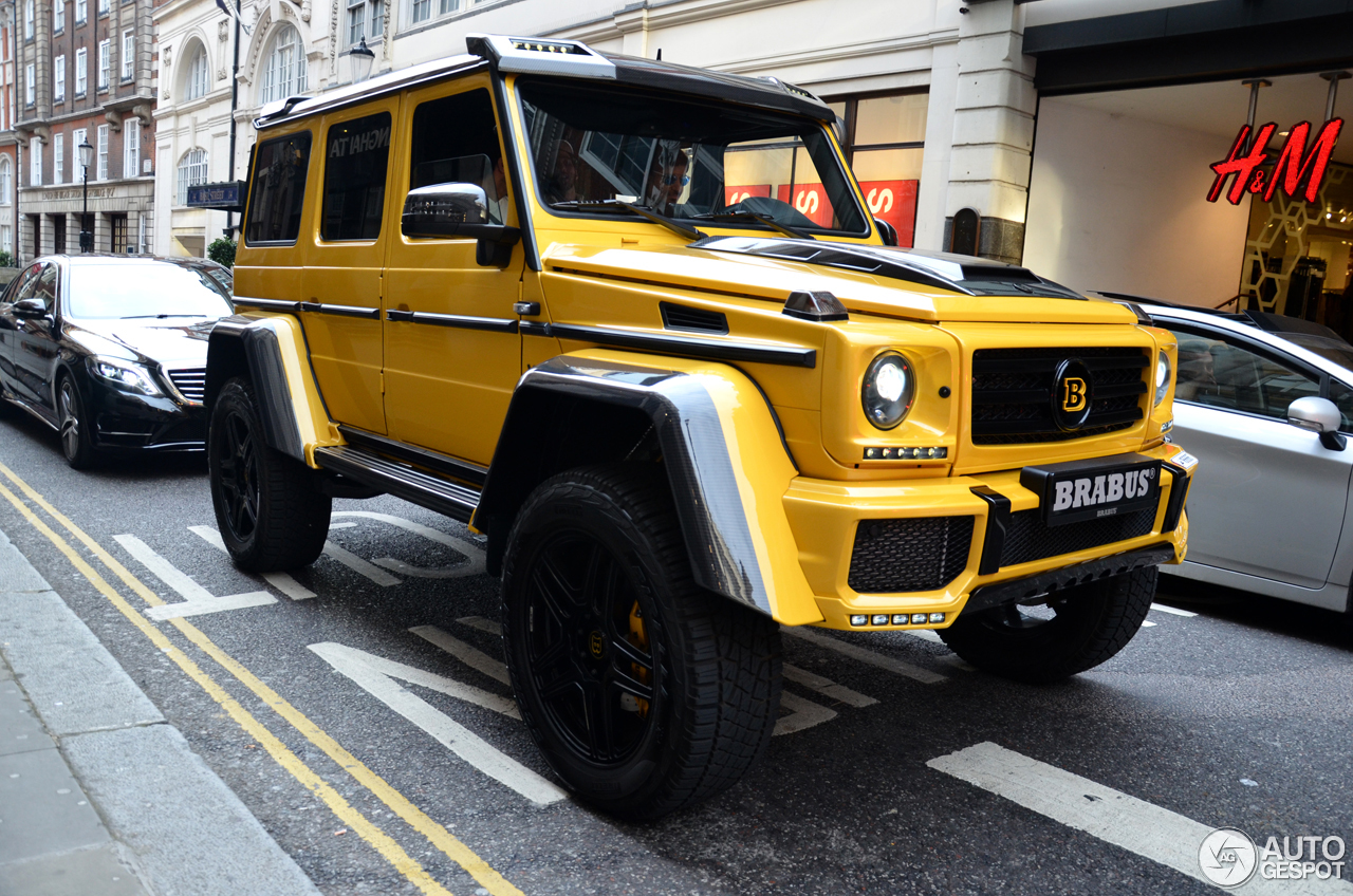 Mercedes benz brabus g 500 4x4 b40 500 19 july 2016 for Mercedes benz g 500