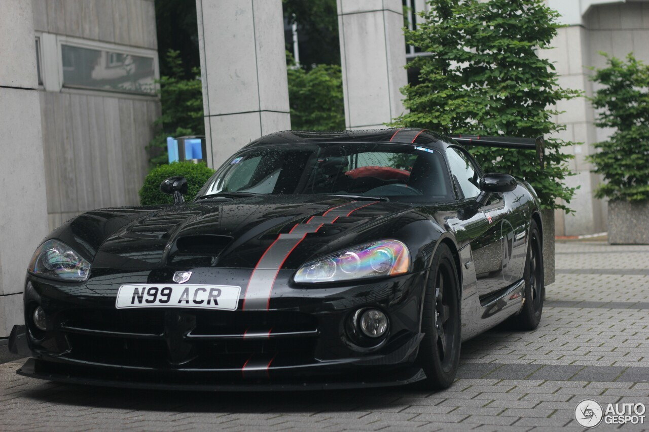 dodge viper srt 10 acr voodoo edition 20 july 2016 autogespot. Black Bedroom Furniture Sets. Home Design Ideas