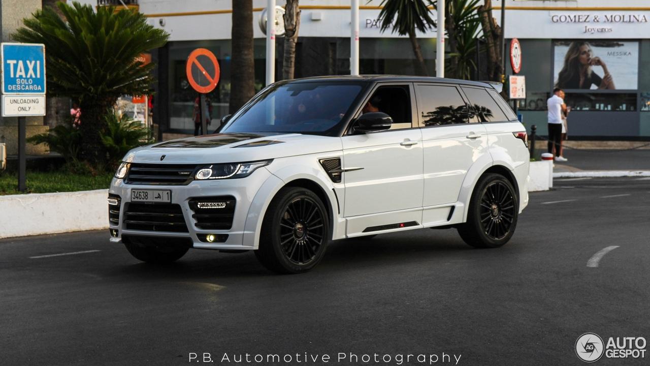 Land Rover Mansory Range Rover Sport Svr 20 July 2016