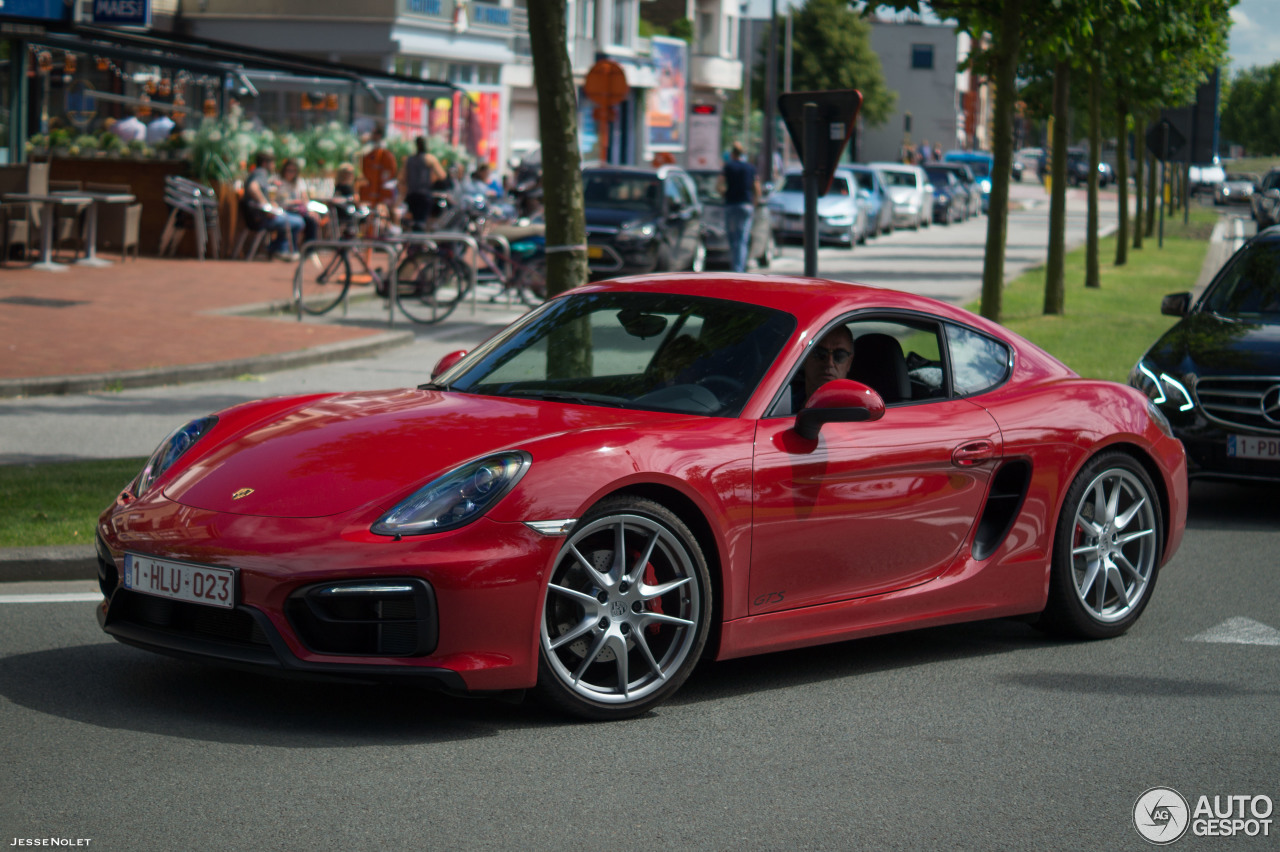 porsche 981 cayman gts 20 july 2016 autogespot. Black Bedroom Furniture Sets. Home Design Ideas