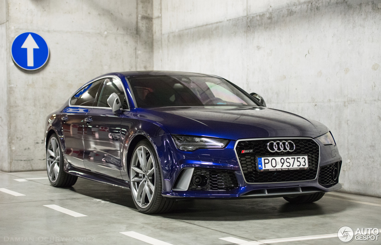 audi rs7 sportback 2015 performance 21 july 2016 autogespot. Black Bedroom Furniture Sets. Home Design Ideas