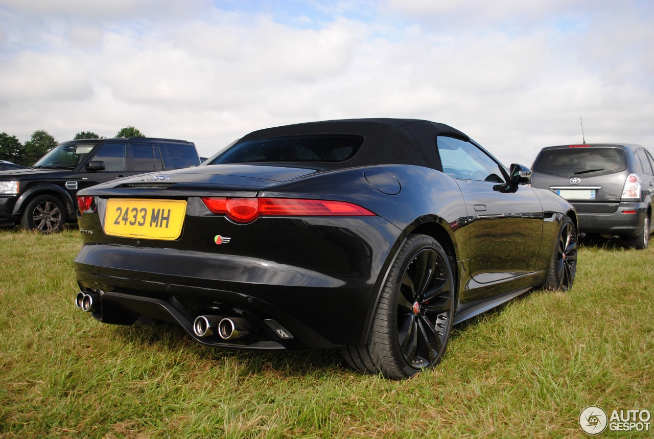 jaguar f type s v8 convertible 21 july 2016 autogespot. Black Bedroom Furniture Sets. Home Design Ideas