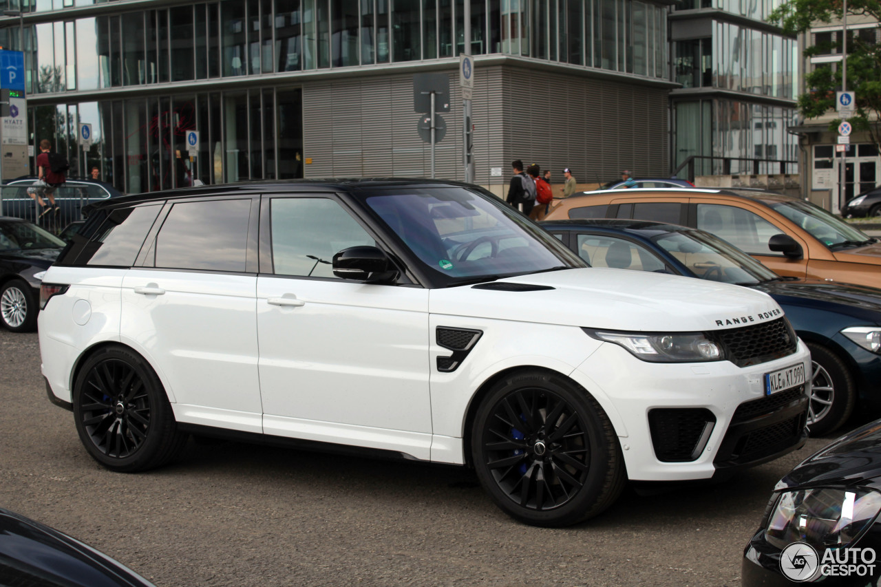 land rover range rover sport svr 21 juli 2016 autogespot. Black Bedroom Furniture Sets. Home Design Ideas