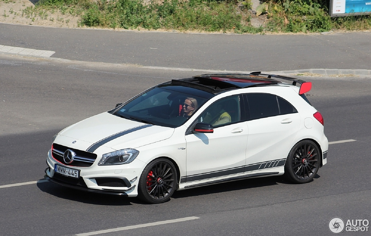 mercedes benz a 45 amg edition 1 21 july 2016 autogespot. Black Bedroom Furniture Sets. Home Design Ideas