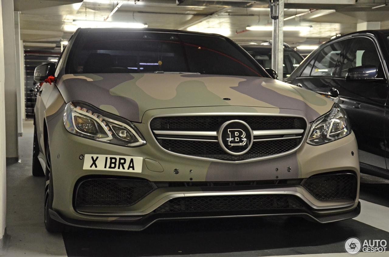 Mercedes benz brabus e b63 730 biturbo w212 2013 21 july for Mercedes benz brabus price