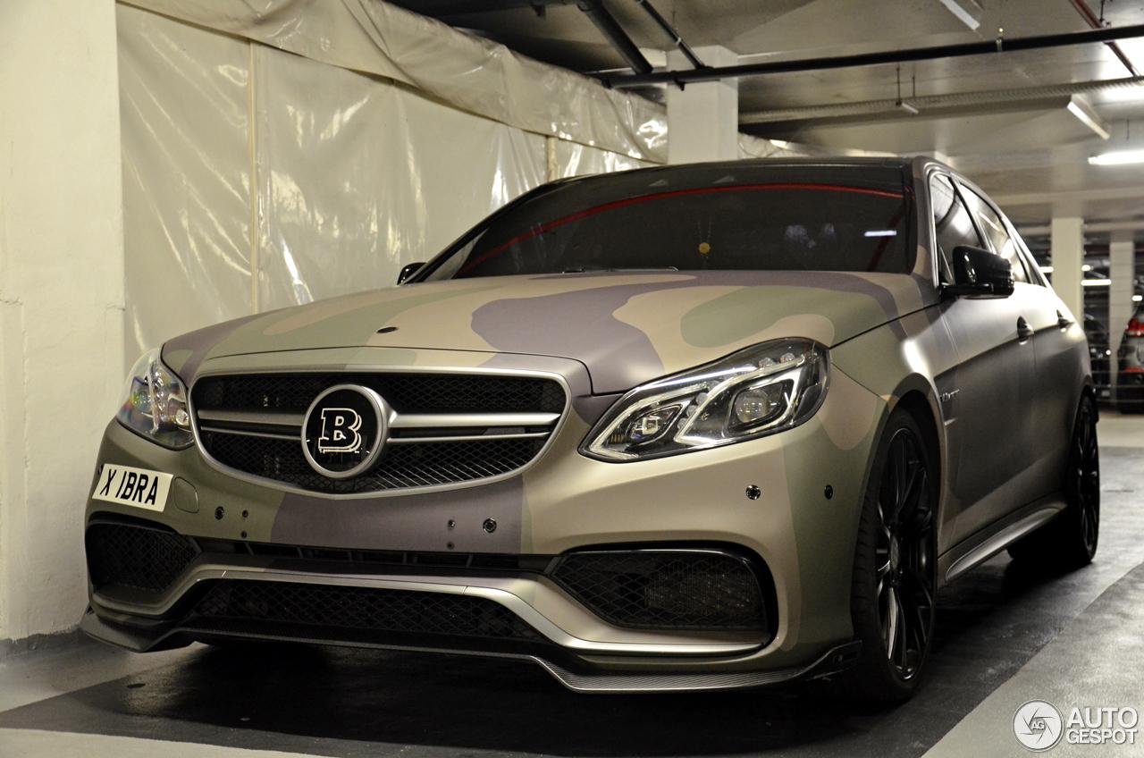 Mercedes benz brabus e b63 730 biturbo w212 2013 21 juli for Mercedes benz brabus price