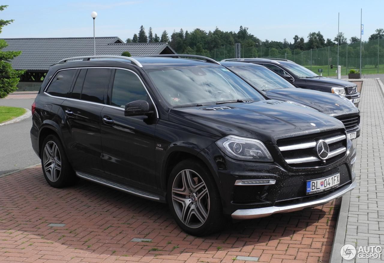 Mercedes benz gl 63 amg x166 21 july 2016 autogespot for 2016 mercedes benz gl