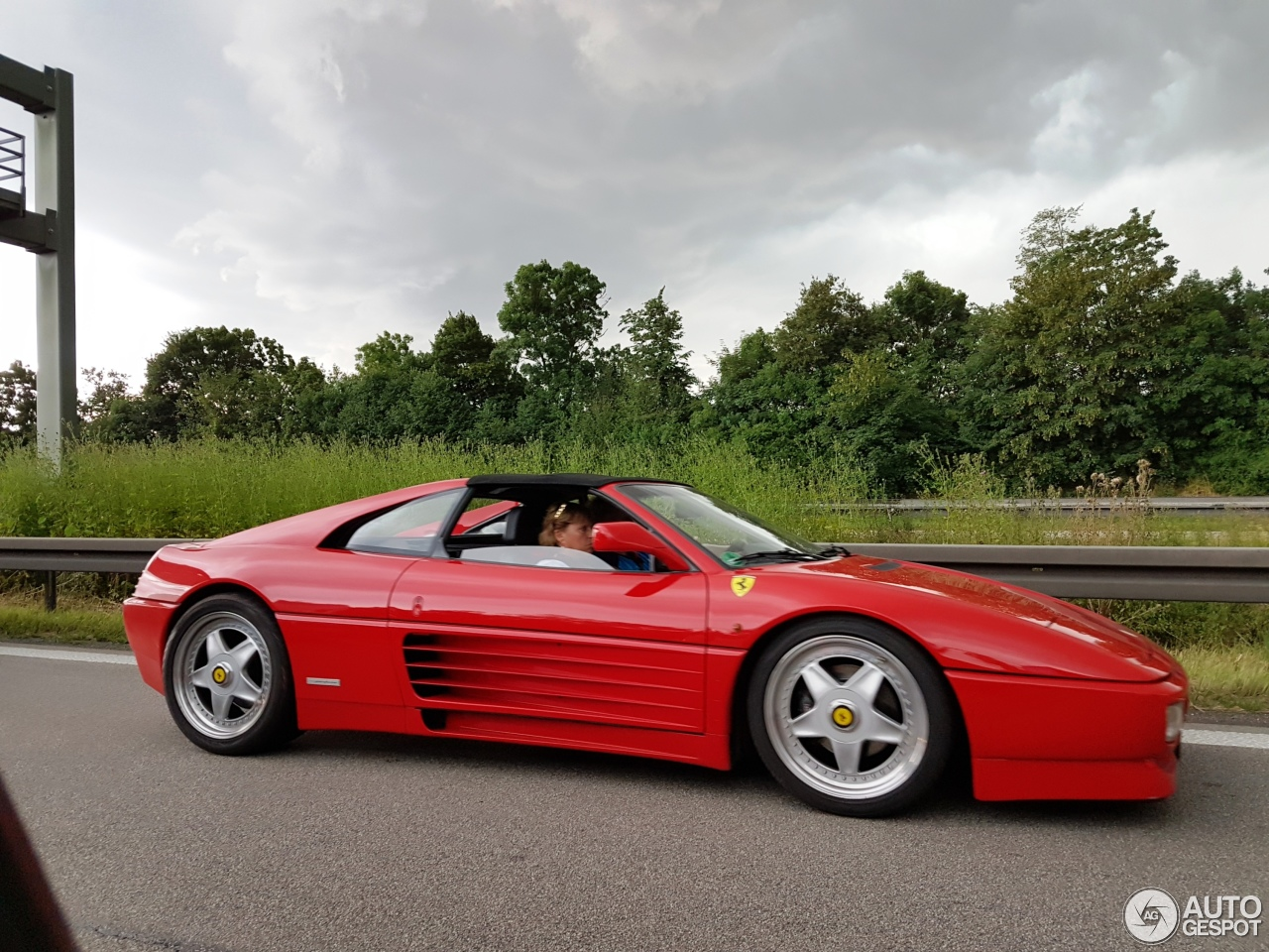 ferrari 348 ts 22 july 2016 autogespot. Black Bedroom Furniture Sets. Home Design Ideas