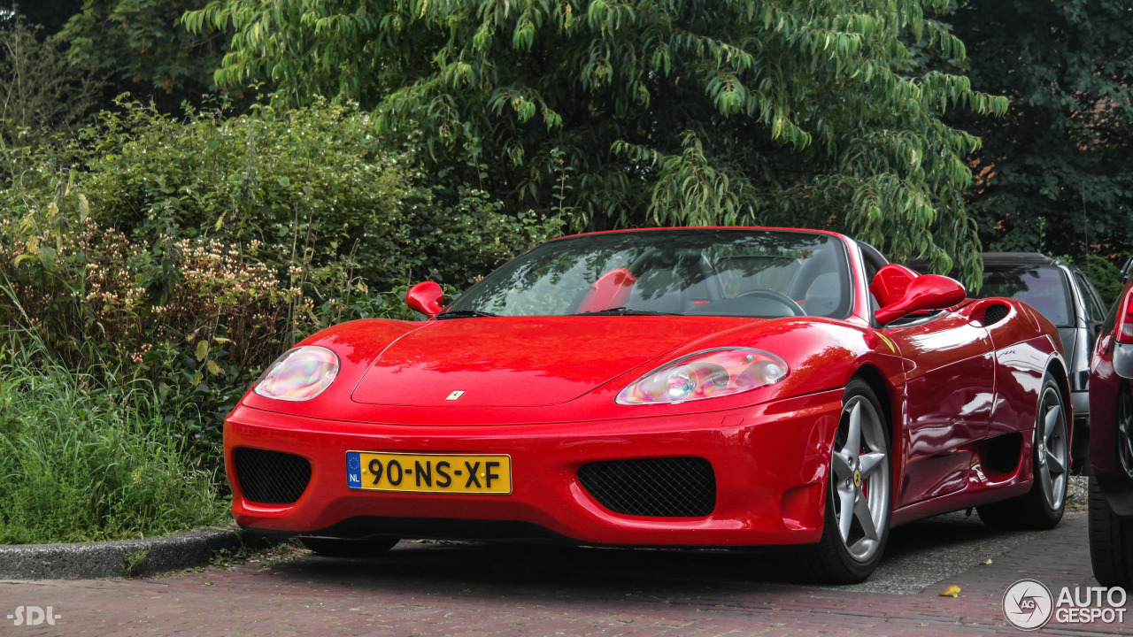 ferrari 360 spider 22 july 2016 autogespot. Black Bedroom Furniture Sets. Home Design Ideas