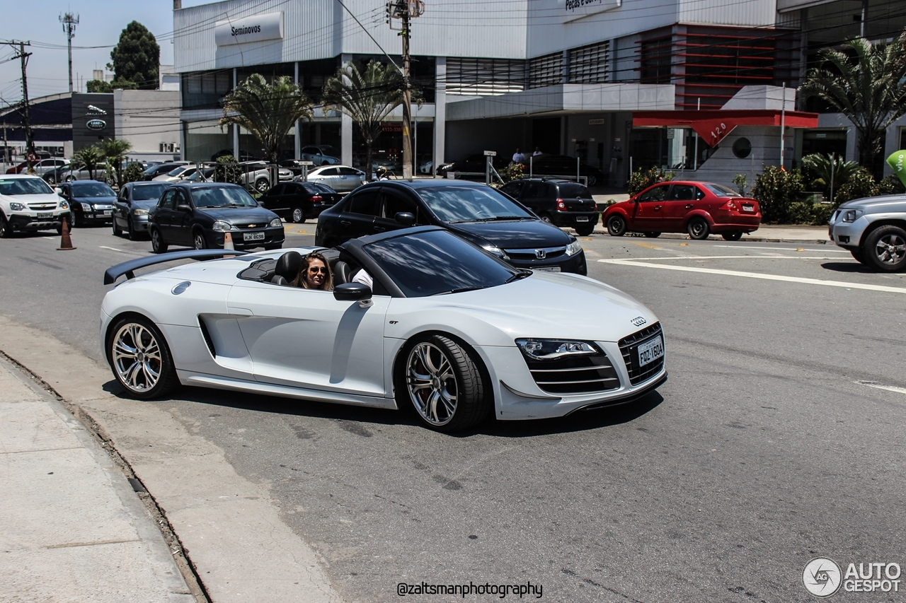 audi r8 gt spyder 23 july 2016 autogespot. Black Bedroom Furniture Sets. Home Design Ideas